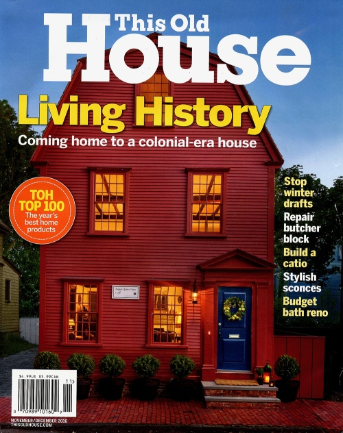 The Old House, Living History: Coming home to a colonial-era house.